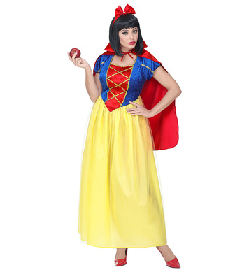 FAIRY TALE PRINCESS (dress, cape, hair-ribbon)