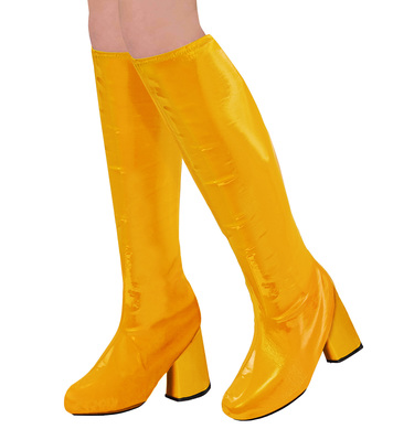 60s GO GO BOOT TOPS - OCHRE