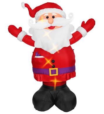 LIGHT-UP AIRBLOWN INFLATABLE SANTA CLAUS 300cm