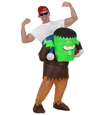 MONSTER RIDER (airblown inflatable costume) (1Size)