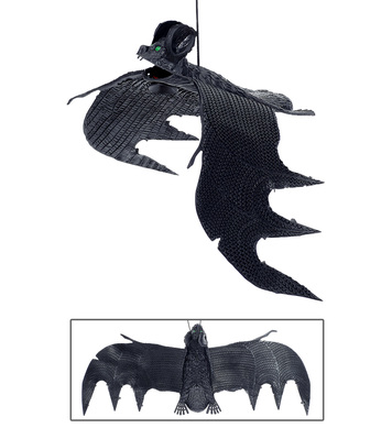 BAT WITH SUCTION CUPS 29cm