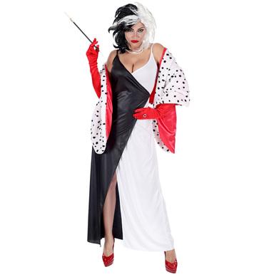 DEMONIA (dress, capelet)