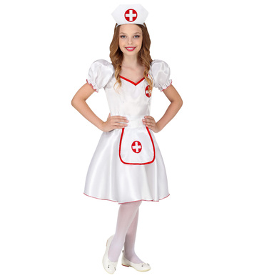 NURSE (dress, headpiece) Childrens