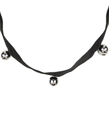 CAT CHOKER WITH 3 BELLS