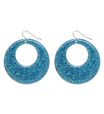 AZURE GLITTER EARRINGS