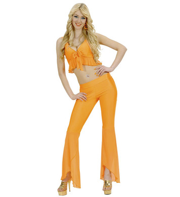 SAMBA TOP & PANTS NEON ORANGE
