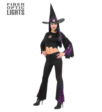 F/OPTIC WITCH COSTUME (top pants hat)