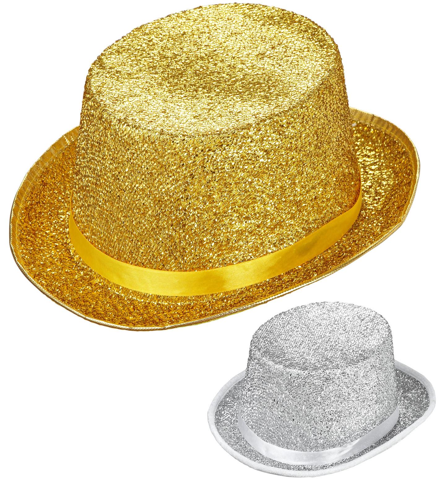 Lurex Top Hat Fancy Dress