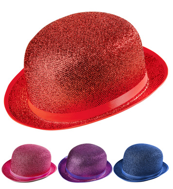 FELT BOWLER LAME - 4 colours