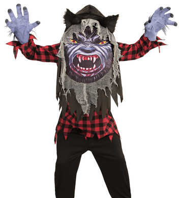 WEREWOLF BIG HEAD COSTUME Childrens