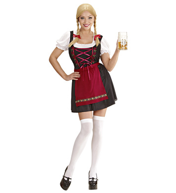 BAVARIAN BEER MAID (dress shirt apron)