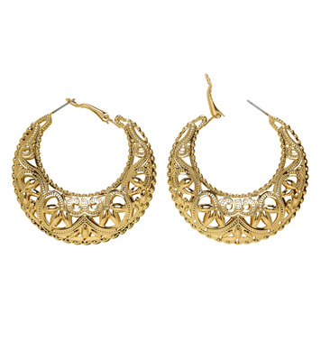 GOLD GIPSY/ROMAN EARRINGS
