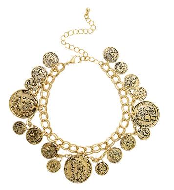 GOLD COINS BRACELET