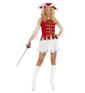 MUSKETEER GIRL (dress hat sleeves)