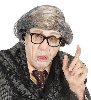 OLD MAN BALDHEAD W/BRING BACK HAIR
