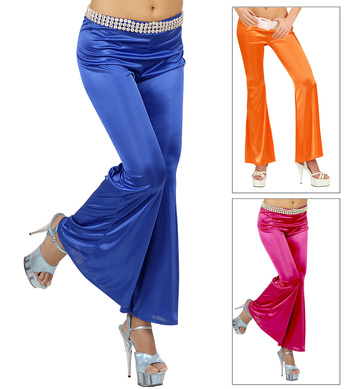 BELL BOTTOMS LADIES M - Pink Orange or Blue