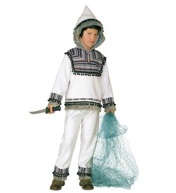 ESKIMO COSTUME (hooded coat pants) Childrens