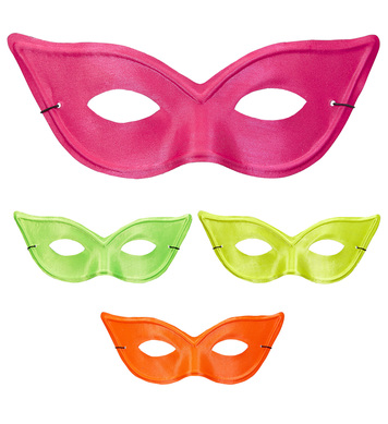 CAT EYE NEON EYEMASK - 4 colors ass