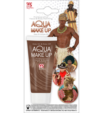 BROWN AQUA MAKEUP IN TUBE 30ml