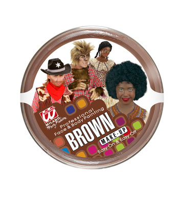 BROWN MAKEUP IN TRAY 25g