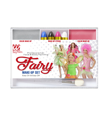 FAIRY MAKEUP SET (4 makeup sticks makeup remover applicator)