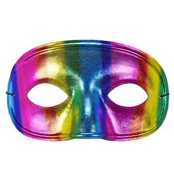 METALLIC RAINBOW PARADE EYEMASK