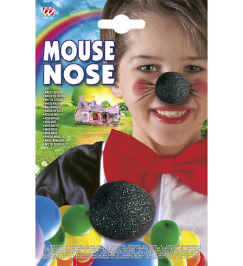 MOUSE NOSE BLACK SPONGE