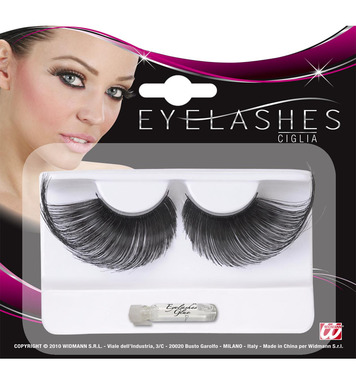 EYELASHES EXTRALONG - BLACK