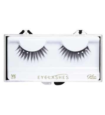 EYELASHES BLACK STRASS