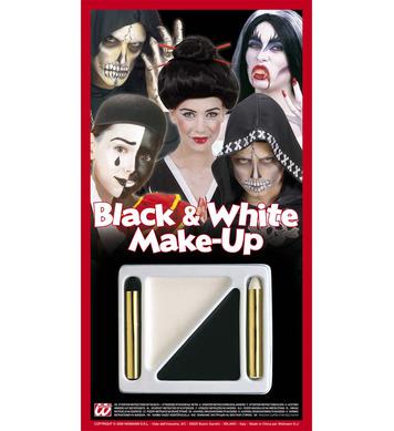 MAKEUP BLACK/WHITE KIT