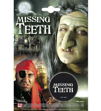 MISSING TEETH MAKEUP