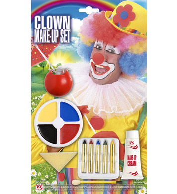 CLOWN MAKE-UP SET