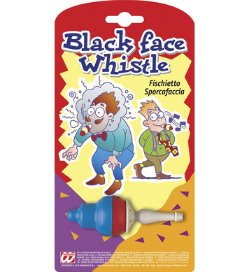 BLACK FACE WHISTLE