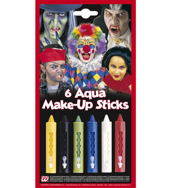 AQUA MAKEUP STICKS W/DISPENSER **was 4004P
