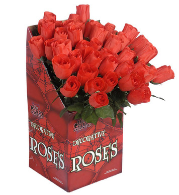 RED ROSES  44cm