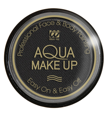 AQUA MAKEUP 15g - BLACK