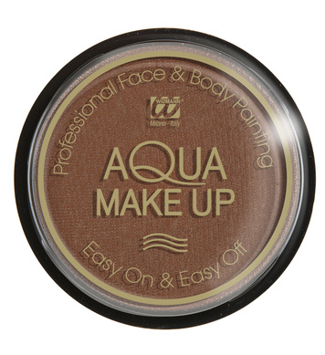 AQUA MAKEUP 15g - BROWN