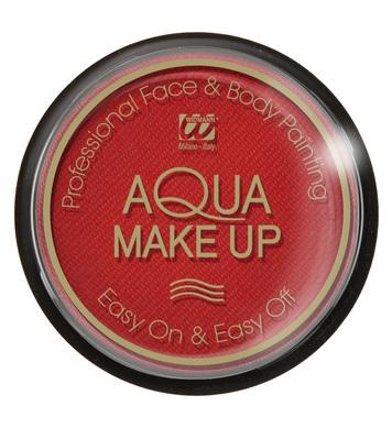AQUA MAKEUP 15g - RED