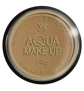 AQUA MAKEUP 15g - DARK BEIGE