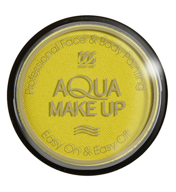 AQUA MAKEUP 15g - PASTEL YELLOW