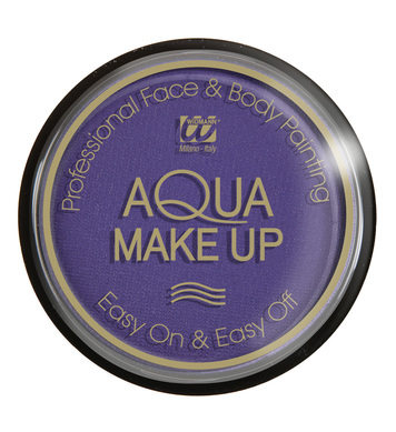 AQUA MAKEUP 15g - PURPLE