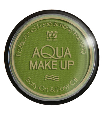 AQUA MAKEUP 15g - EMERALD GREEN