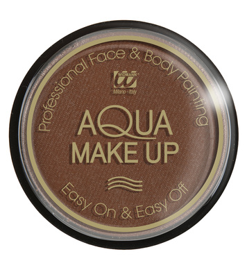 AQUA MAKEUP 30g - BROWN