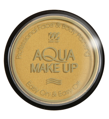AQUA MAKEUP 15g - METALLIC GOLD