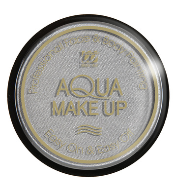 AQUA MAKEUP 15g - METALLIC SILVER