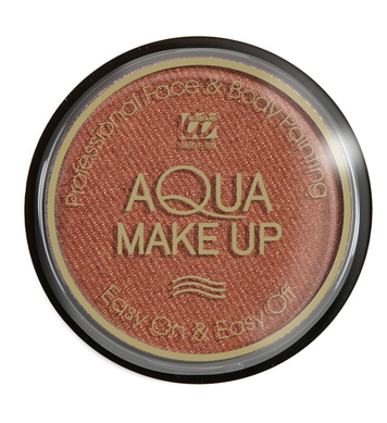 AQUA MAKEUP 15g - METALLIC BRONZE