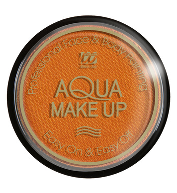 AQUA MAKEUP 15g - METALLIC ORANGE