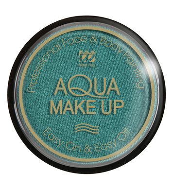AQUA MAKEUP 15g - METALLIC GREEN