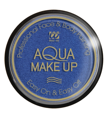 AQUA MAKEUP 15g - METALLIC BLUE
