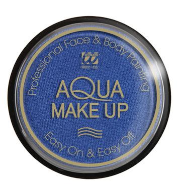 AQUA MAKEUP 15g - METALLIC BLUE